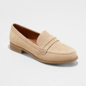 Anamae Suede Loafers 10 Universal Thread Tan